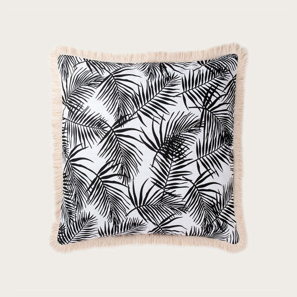 Palazzo Cushion Cover in Black