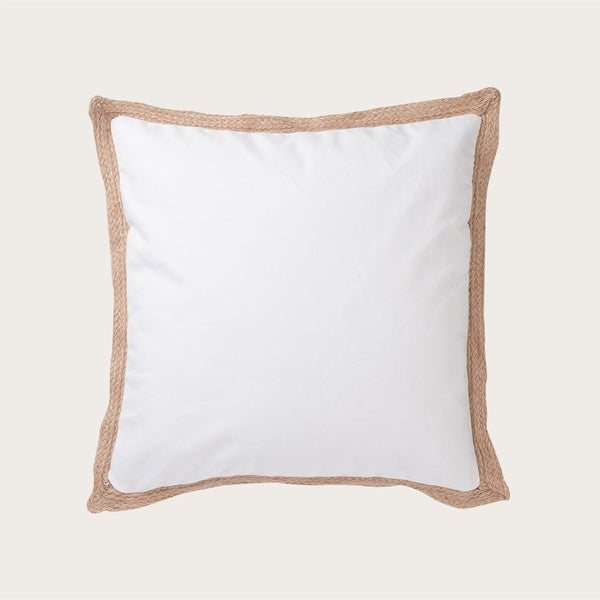 Terem Cushion Cover in White