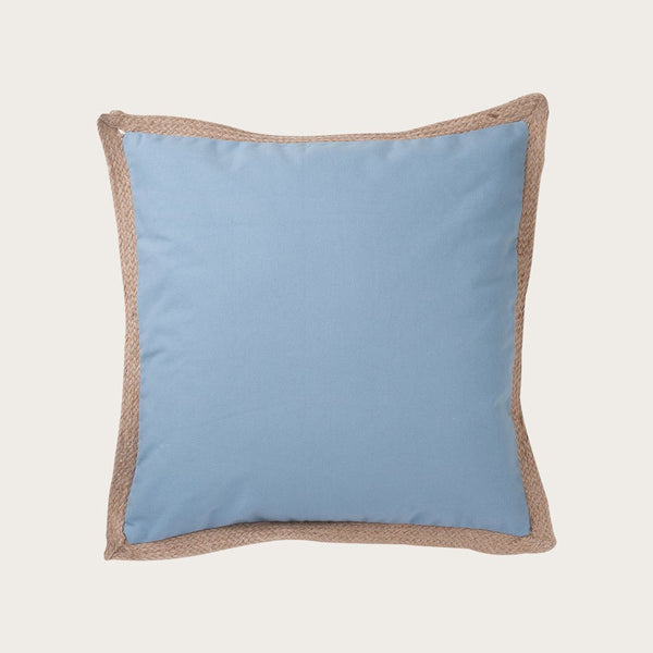 Terem Cushion Cover in Dusty Blue
