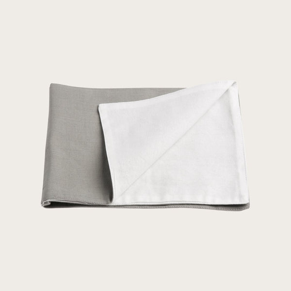 Quincy Linen Placemat in Grey
