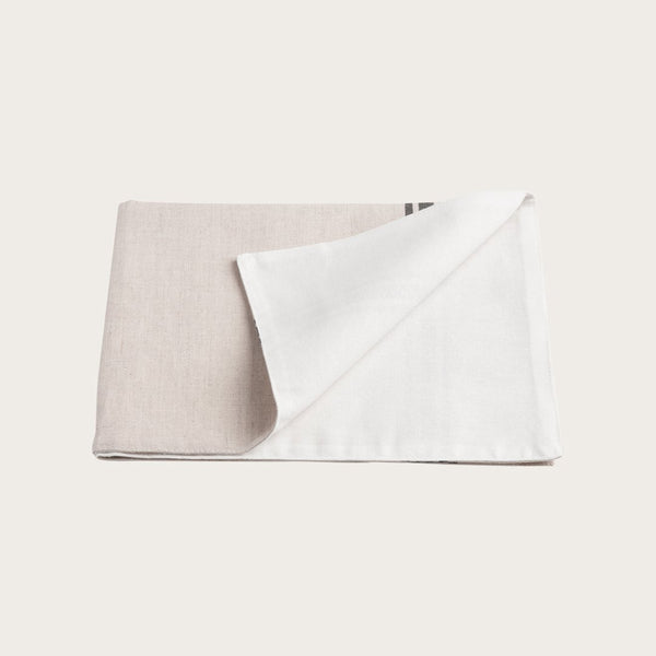 Quincy Linen Placemat in Natural Stripe