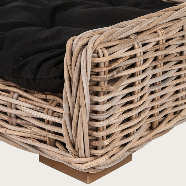 Izzi Large Woven Dog Basket