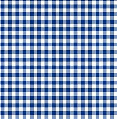 Dark Blue Gingham Paper Napkins