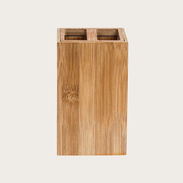 Hasina Bamboo Toothbrush Holder