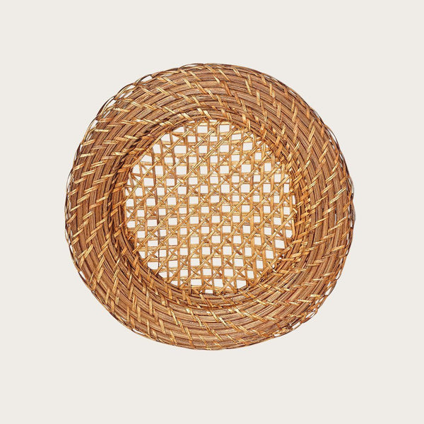 Viliame Rattan Charger Plate