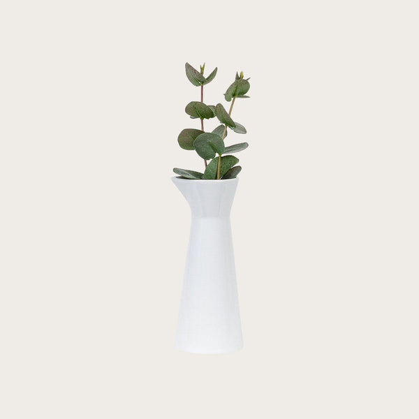 Eva Ceramic Vase in White