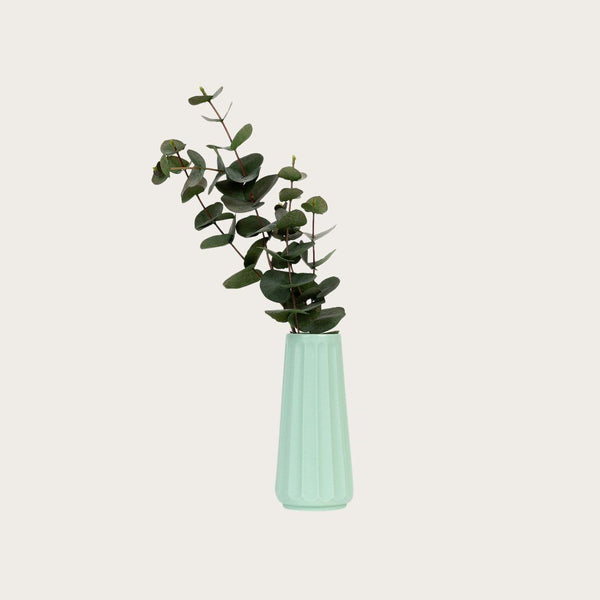 Auguste Large Ceramic Vase in Mint