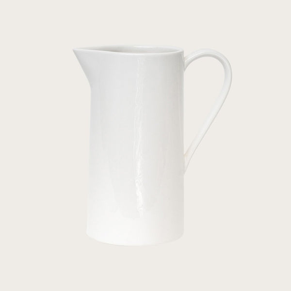 Suvero Pitcher in White