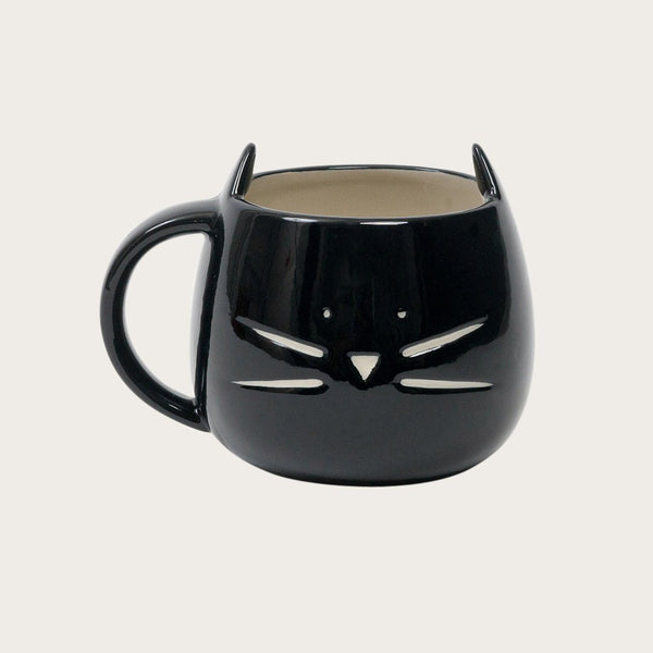 Minti Ceramic Mug in Black