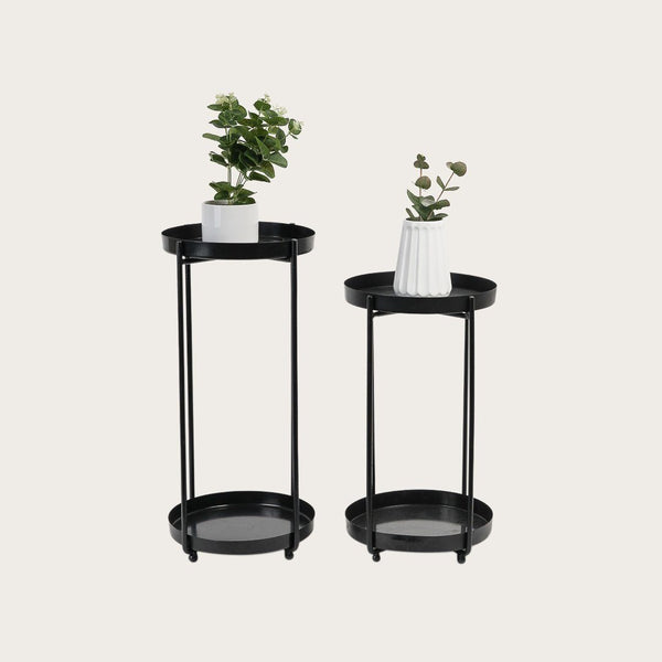 Erika Large Tiered Metal Plant Stand