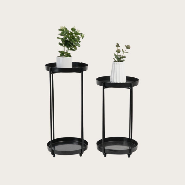 Erika Small Tiered Metal Plant Stand