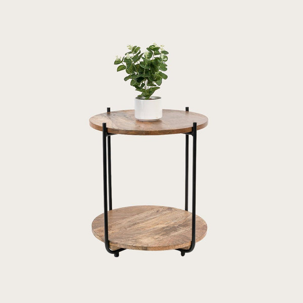 Parker Side Mango Wood Side Table