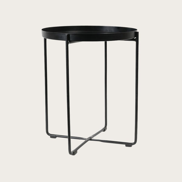 Allo Large Side Table in Black