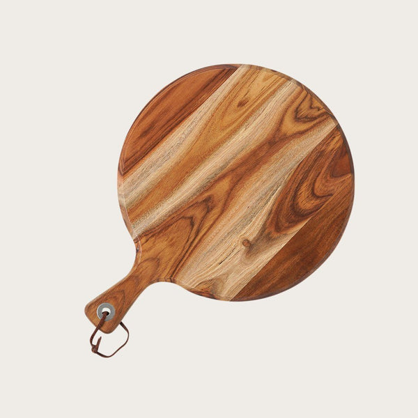 Madeleine Round Acacia Wood Cutting Board