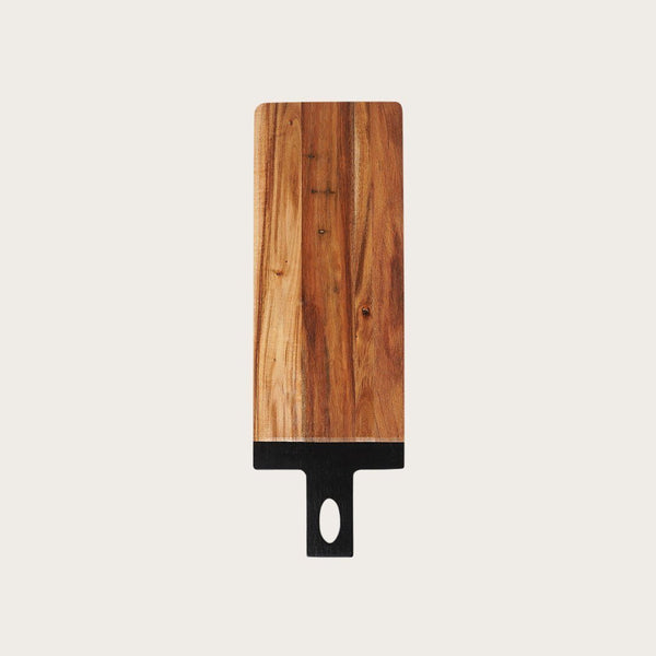 Boyce Acacia Wood Cutting Board in Black