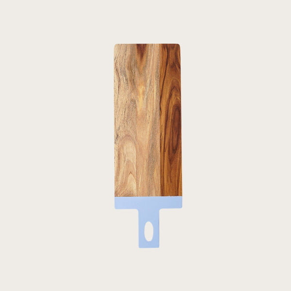 Boyce Acacia Wood Cutting Board in Blue