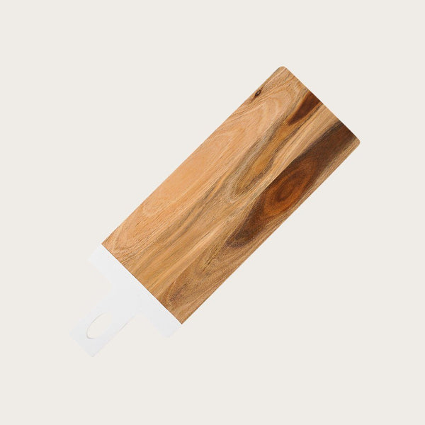Boyce Acacia Wood Cutting Board in White