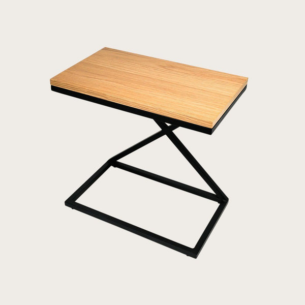 Dalarna C Shape Side Table in Black
