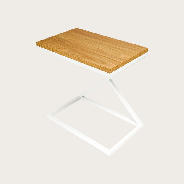 Dalarna Side C Shape Table in White