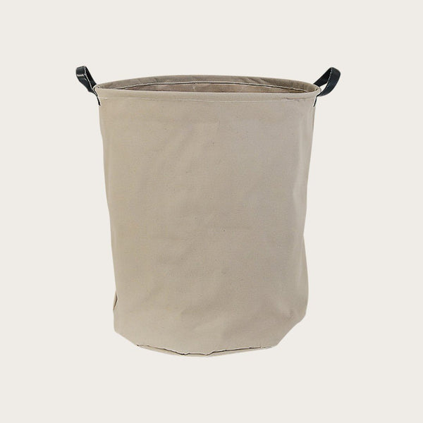 Kalay Canvas Storage Basket in Natural