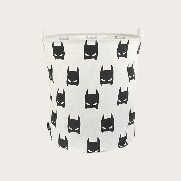 Garbi Fabric Storage Basket In Super Hero Print