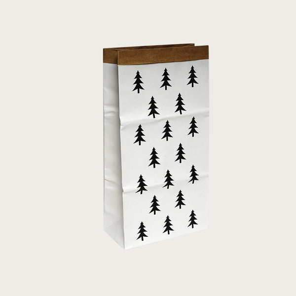 Dana Kraft Paper Storage Bag In Tree Print