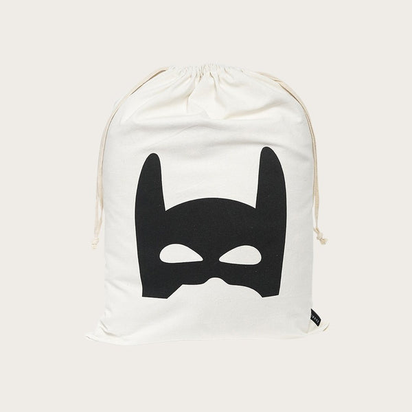 Yara Drawstring Bag In Superhero Print