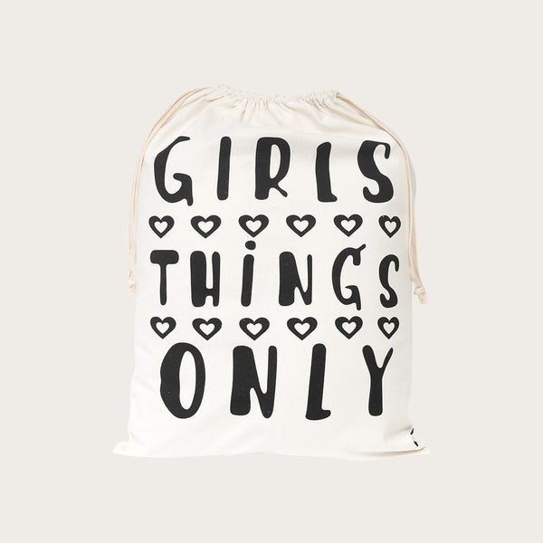 Yara Drawstring Bag In Girls Print