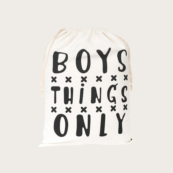 Yara Drawstring Bag In Boys Print