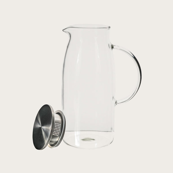 Carlo 1.5L Glass Pitcher