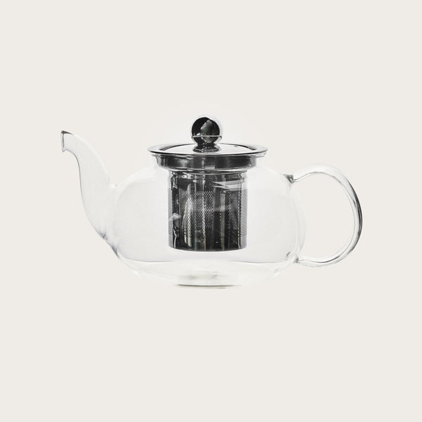 Abbey Small Glass Teapot