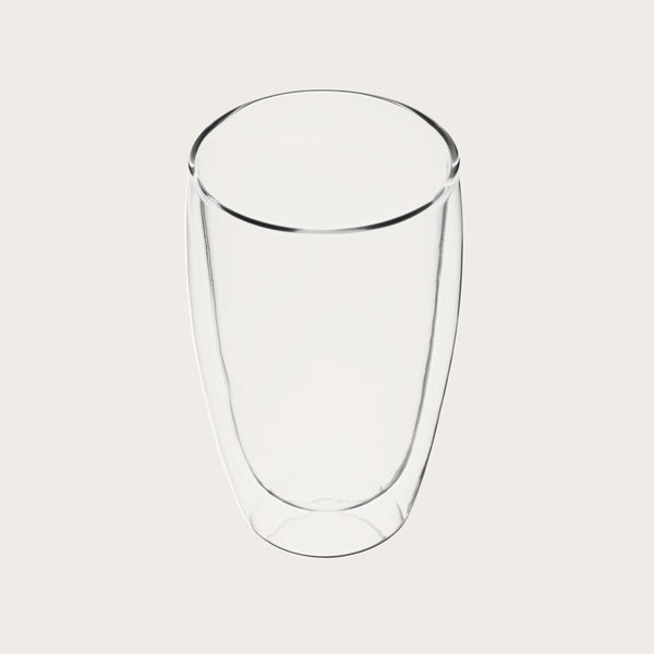 Don Large Double Wall Glass Tumbler
