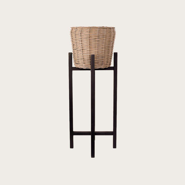 Riccardo Large Willow Basket Plant Stand