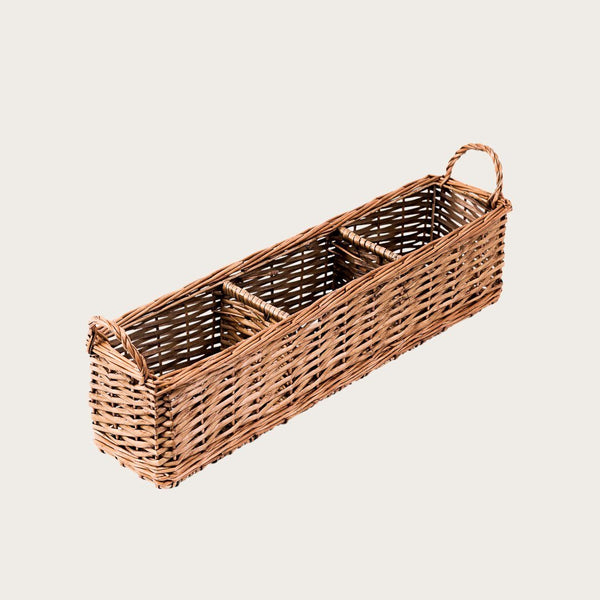 Vincenzo Willow Stoeage Basket