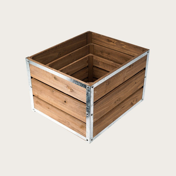 Franceso Large Wooden Metal Storage Box