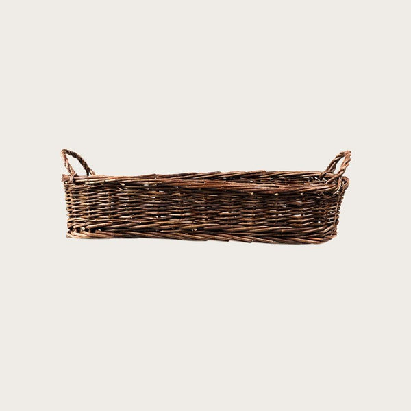 Antonio Small Willow Basket with Handles