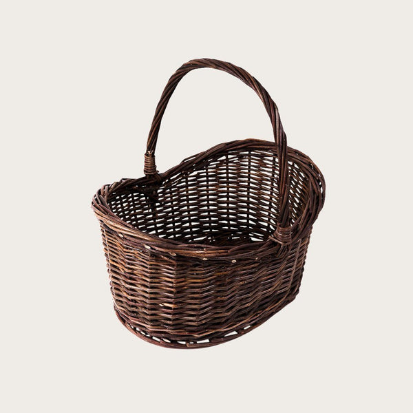 Alessio Large Willow Basket Handle