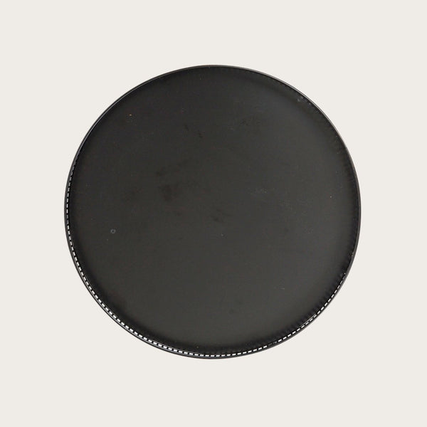Elena Metal Tray in Black