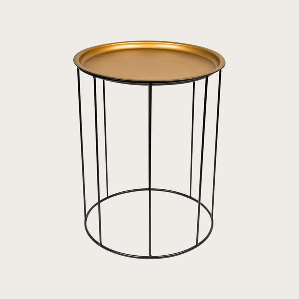 Berthe Bedside Table or Planter in Black