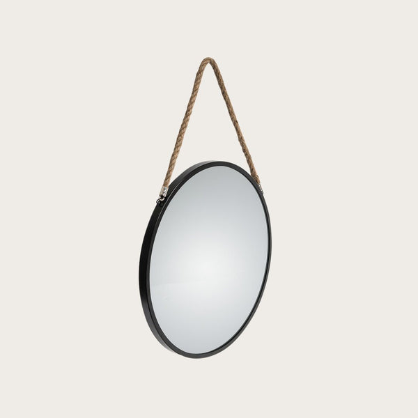 Panneau Large Wall Mirror in Black