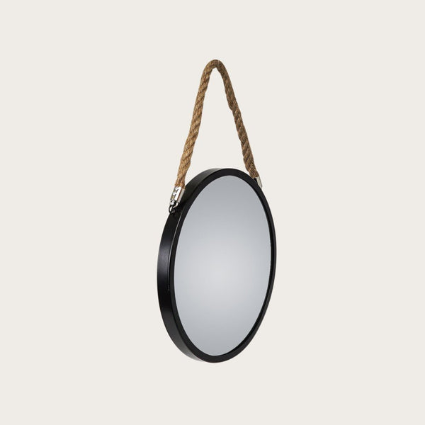 Panneau Small Wall Mirror in Black