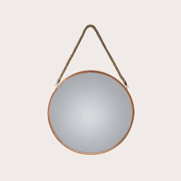 Panneau Large Mirror in Copper