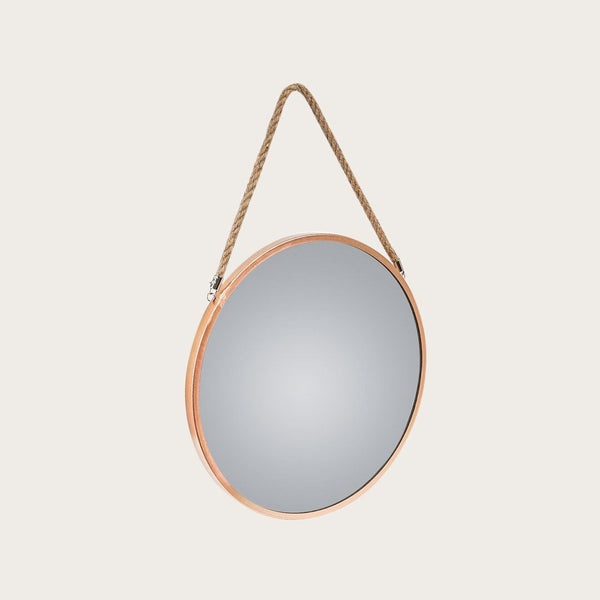 Panneau Large Wall Mirror in Copper