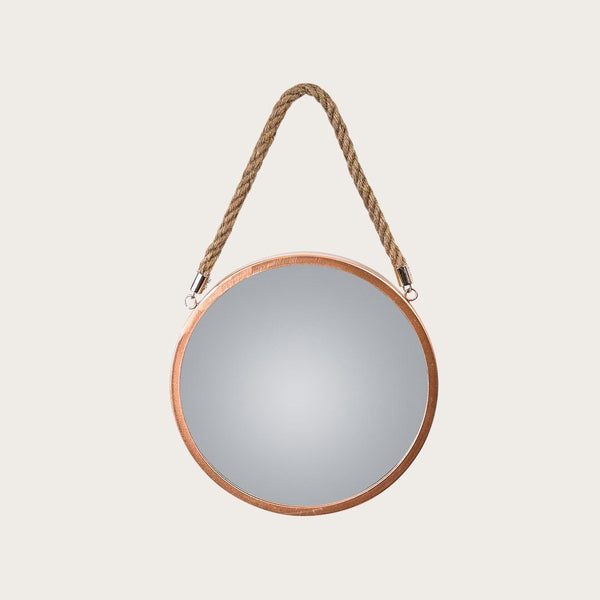 Panneau Small Wall Mirror in Copper