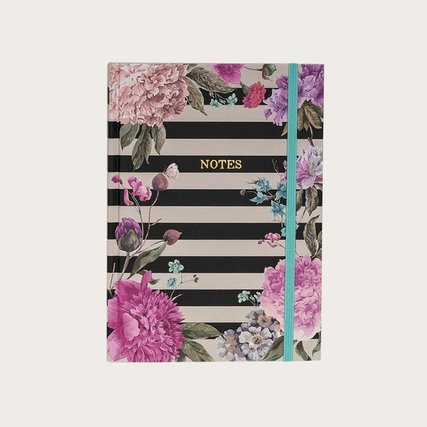 Morrison A5 Hardcover Notebook in Floral