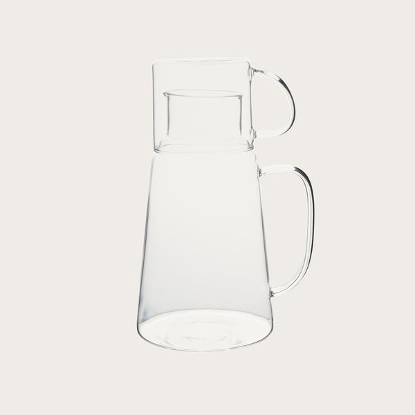 Picadilly Glass Pitcher Set