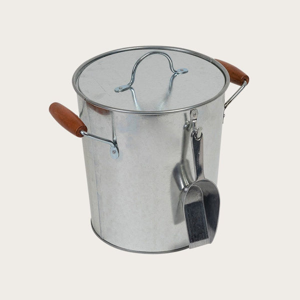 Fitz Metal Ice Bucket with Scoop