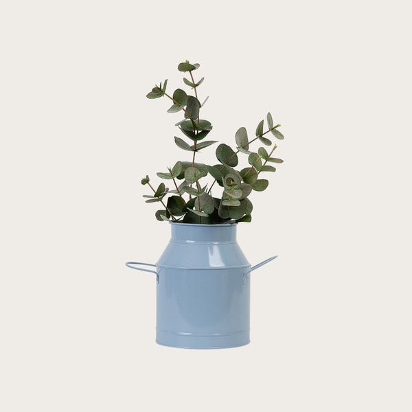 Vaca Metal Jug in Dusty Blue