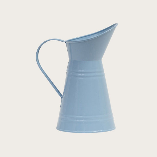 Mara Metal Jug in Dusty Blue