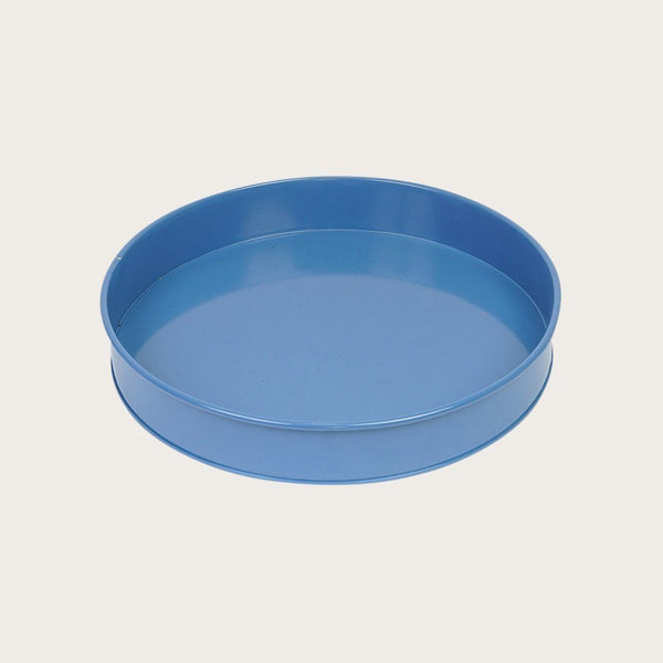 Ida Round Tray in Deep Blue